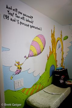 such a cute baby's room or toy room!