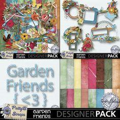Garden Friends Collection-(PattyB) | #MyMemories #pattybscraps #digitalscrapbooking