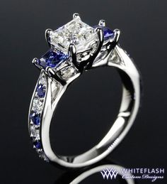 beautiful ring...love the sapphire!
