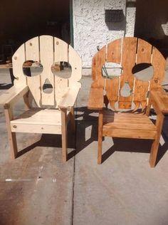 Skulls chairs @Michele Morales Rivard $139