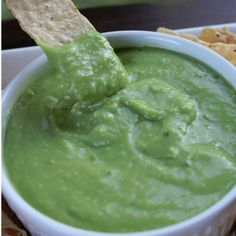 El Pollo Loco Avocado Salsa Copycat. This is a great salsa recipe that anyone can make at home.
