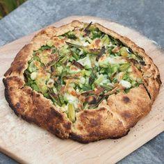 Rustic Vegetable Tart