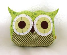 owl pillows, art crafts, toy, big eyes, owl crafts, lil hoot, cushion, owls, ginger blossom