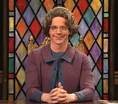 Dana Carvey as the Church Lady
