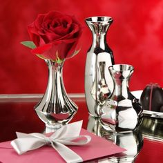 Find it at the Foundary - Set of 3 Classique Bud Vases