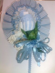 Mothers corsage,with bay socks