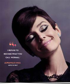 Audrey Hepburn .