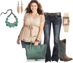 """PLUS SIZE OUTFIT """"Untitled #96"""" by bkassinger on Polyvore"""