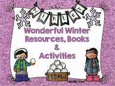 LMN Tree: Wonderful Winter Resources, Books, Crafts, and Free Activities