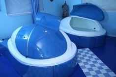Float in a sensory deprivation tank #HouBList