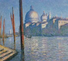 The Gran Canal, Venice, 1908, Claude Monet