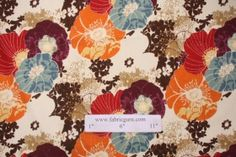 Richloom Amelia Printed Cotton Decorator Fabric in Graffiti $3.95 per yard