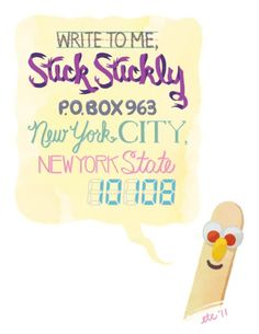 Stick Stickly!