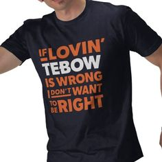 tim tebow, tebow time, gift idea