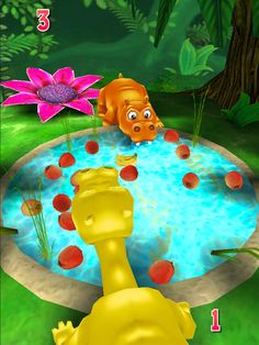 Hungry Hungry Hippos: Free app great for a reinforcer