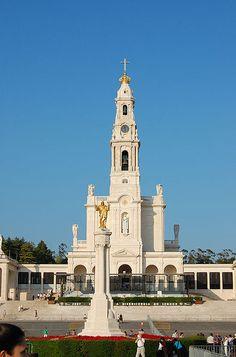 favorit place, church, fatima basilica