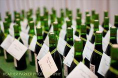wine wedding favors - wine themed wedding ideas