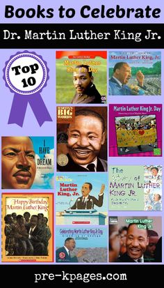 Dr. Martin Luther King Jr. Picture Books for Preschool and Kindergarten
