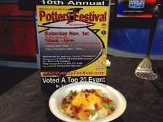 Pottery Festival Potato Sundaes - by Dogwood Crafters, Chef Brenda Anders