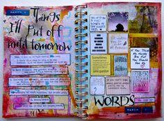30 days of lists, by Nicole Maki  #journal