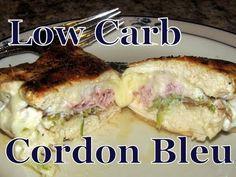 Atkins Diet Recipes: Low Carb Chicken Cordon Bleu (IF)