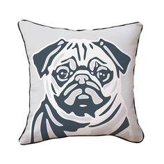 Pug Pillow.