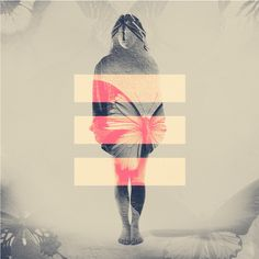 DOUBLE EXPOSURE PORTRAITS by Dan Mountford, via Behance
