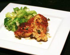 Panko-coated chicken schnitzel olive oils, main dish, chicken schnitzel, inspir eat, panko chicken
