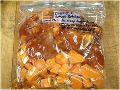 Crock Pot Chicken and Sweet Potatoes