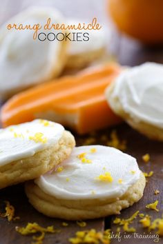 Orange Dreamsicle Cookies from chef-in-training.com ...These cookies are INCREDIBLE! They are so soft and chewy and the flavor is amazing!