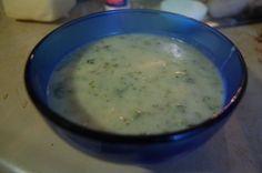 Potato Brocolli cheese soup