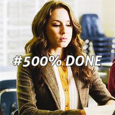 """This time, you are done. For good. 