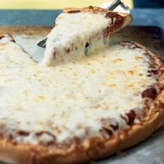 Cooking Light Cheese Pizza