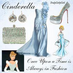 Disney Style: Cinderella (Disney Princess Designer Collection), created by trulygirlygirl on Polyvore