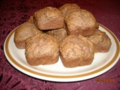 WW Chocolate PB2 Banana Muffins
