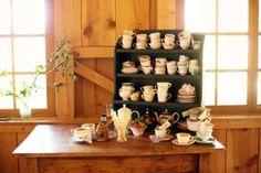 Sarah & James - Celebrations Durango CO Wedding Planner & Event Coordinator » Love this idea for a tea station!