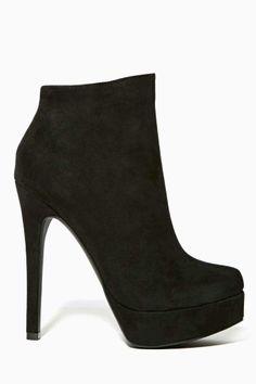 Shoe Cult Veronika Platform Bootie - Black