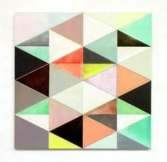 <3 pastels + geometrics <3