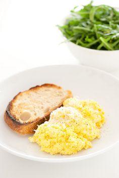 the secret ingredient – how to scramble eggs like tetsuya