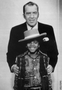 Ed Sullivan and Michael Jackson