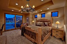 Western Style Bedroom Decor