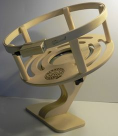 Sit on Quilting frame...It can spin a full 360 degrees and has an adjustable tilt knob