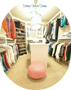 This is the size of my closet! I need to do this!!