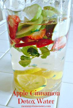 Detox water for craving control and beautiful skin.