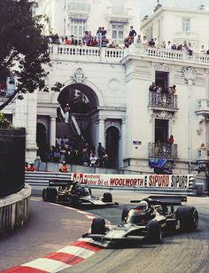 Tom Pryce & Jean Pierre Jarier, Shadow DN5B - 1976 Monaco GP