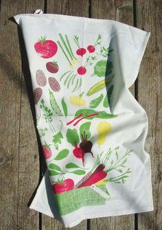 Endless Harvest Tea Towel $20