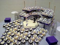 cake idea #baseball #wedding