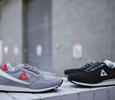 Le Coq Sportif Eclat 89-Grey and Black