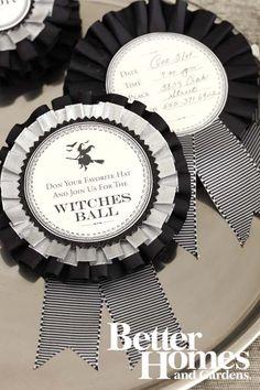 Invitatations: BHG Halloween Tricks & Treats magazine - October 2012