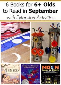 September Book Picks for Age 6 and Older and Extension Activities for them
